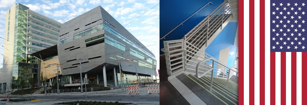 Pacific Stair Corporation Complete Commercial Egress Solutions | Pacific Stairs And Railings | Architecture | Wire Mesh | Cad | Casey Brown | Modern Staircase