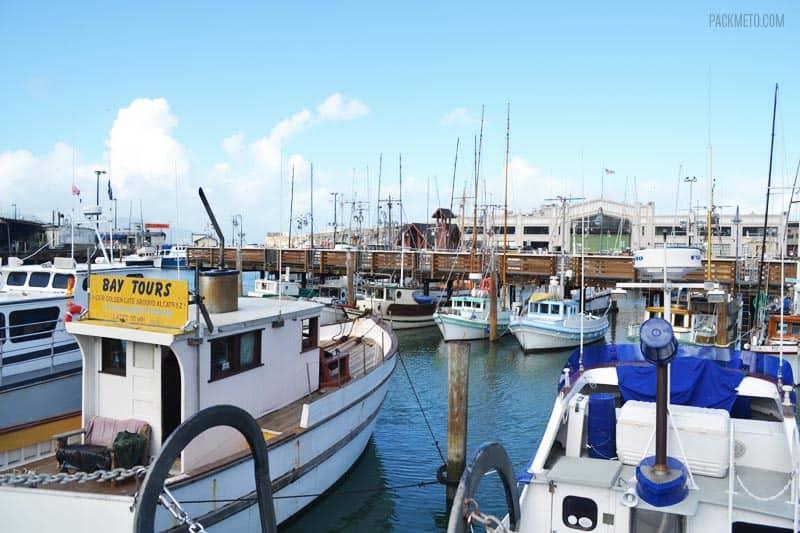 San Fishermans Francisco Wharf Lunch