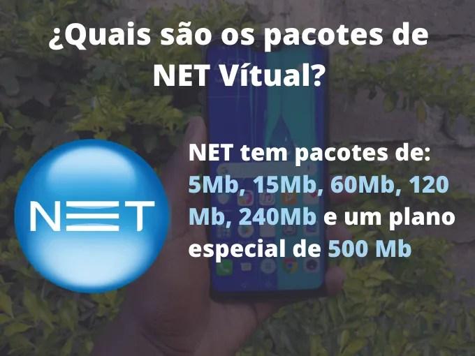 Saiba quais são os pacotes de segunda via de serviços NET