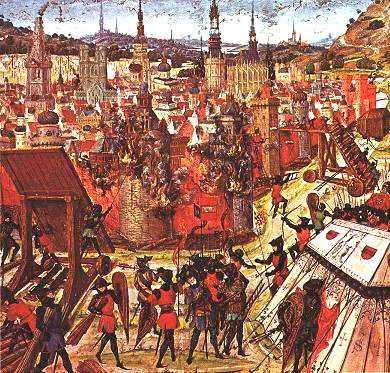 Prendendo i crociati di Gerusalemme