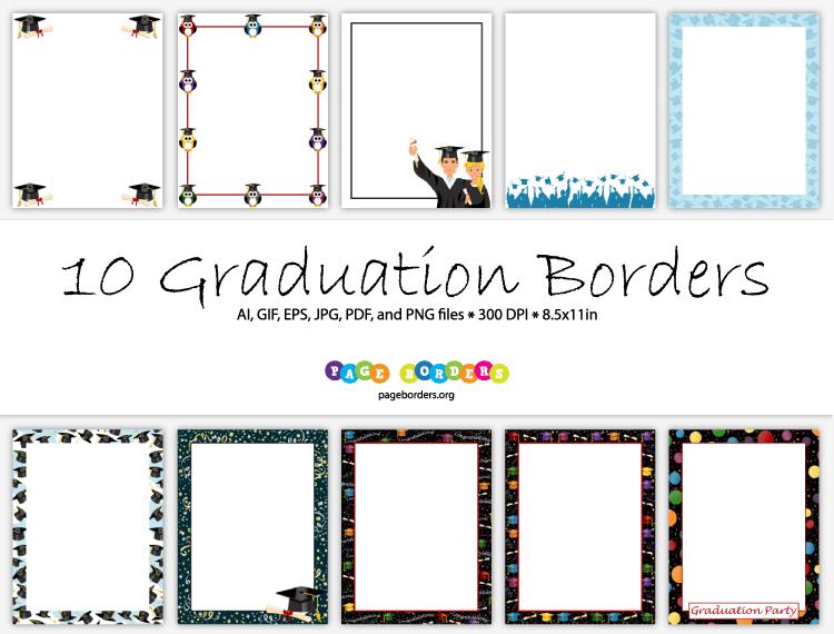 11 X Border Graduation 5 Purple 8