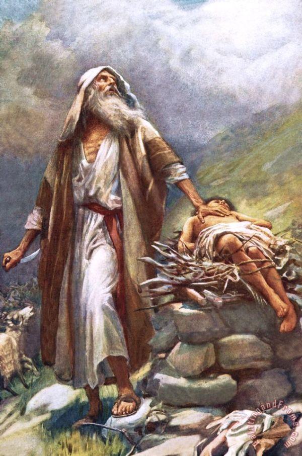 abraham and isaac # 85