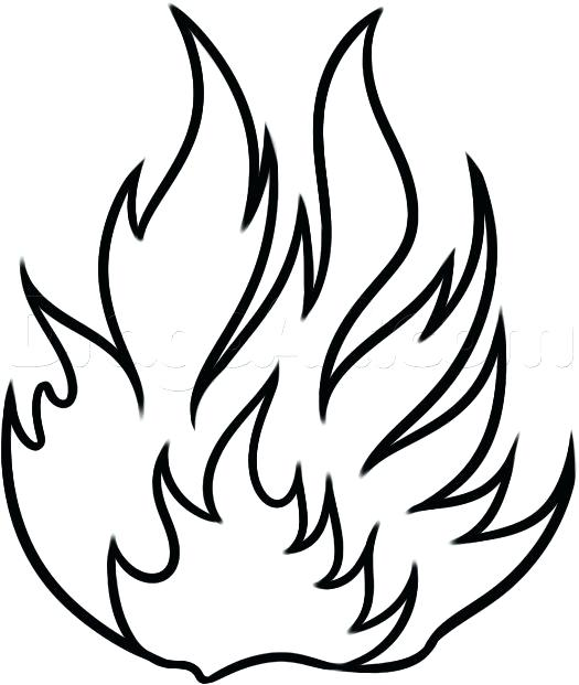 flames coloring pages # 69