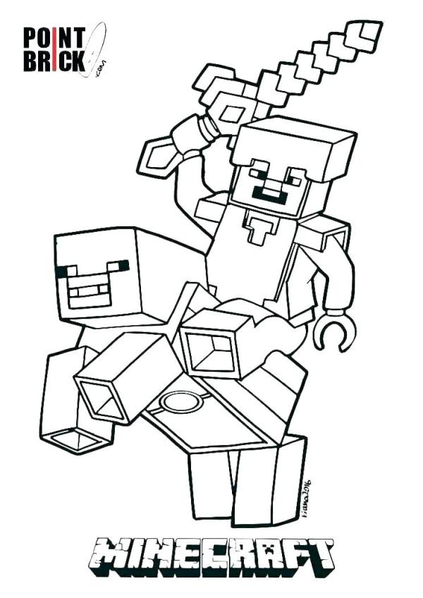 minecraft printables coloring pages # 58