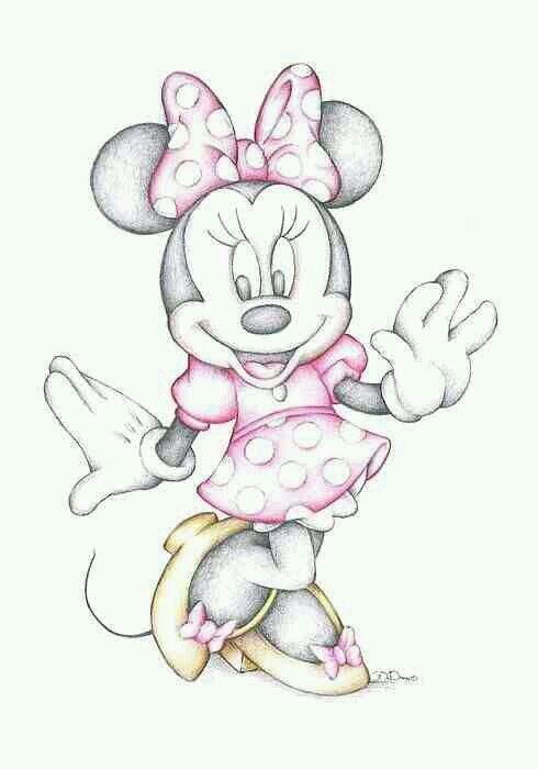 minnie mouse zeichnen # 42
