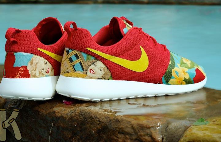 nike roshe run island girl custom for sale