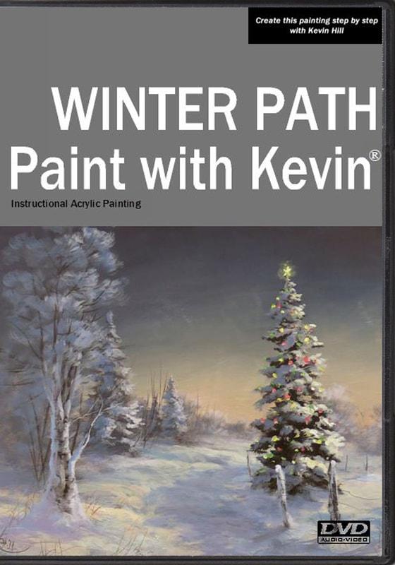 Easy Acrylic Painting Path Way