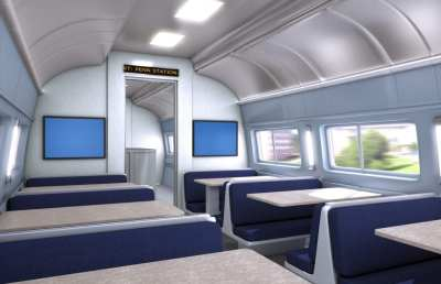 Train Interior | Panolam Surface Systems