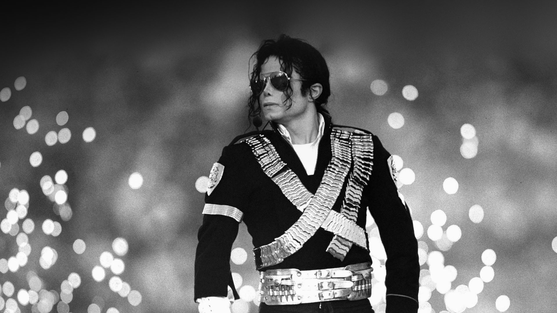 Hc09 Michael Jackson Bw Concert King Of Pop Papers Co