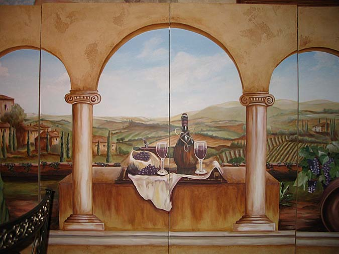 Wine Cellar Murals Wine Themes Paradise Studios Luxury