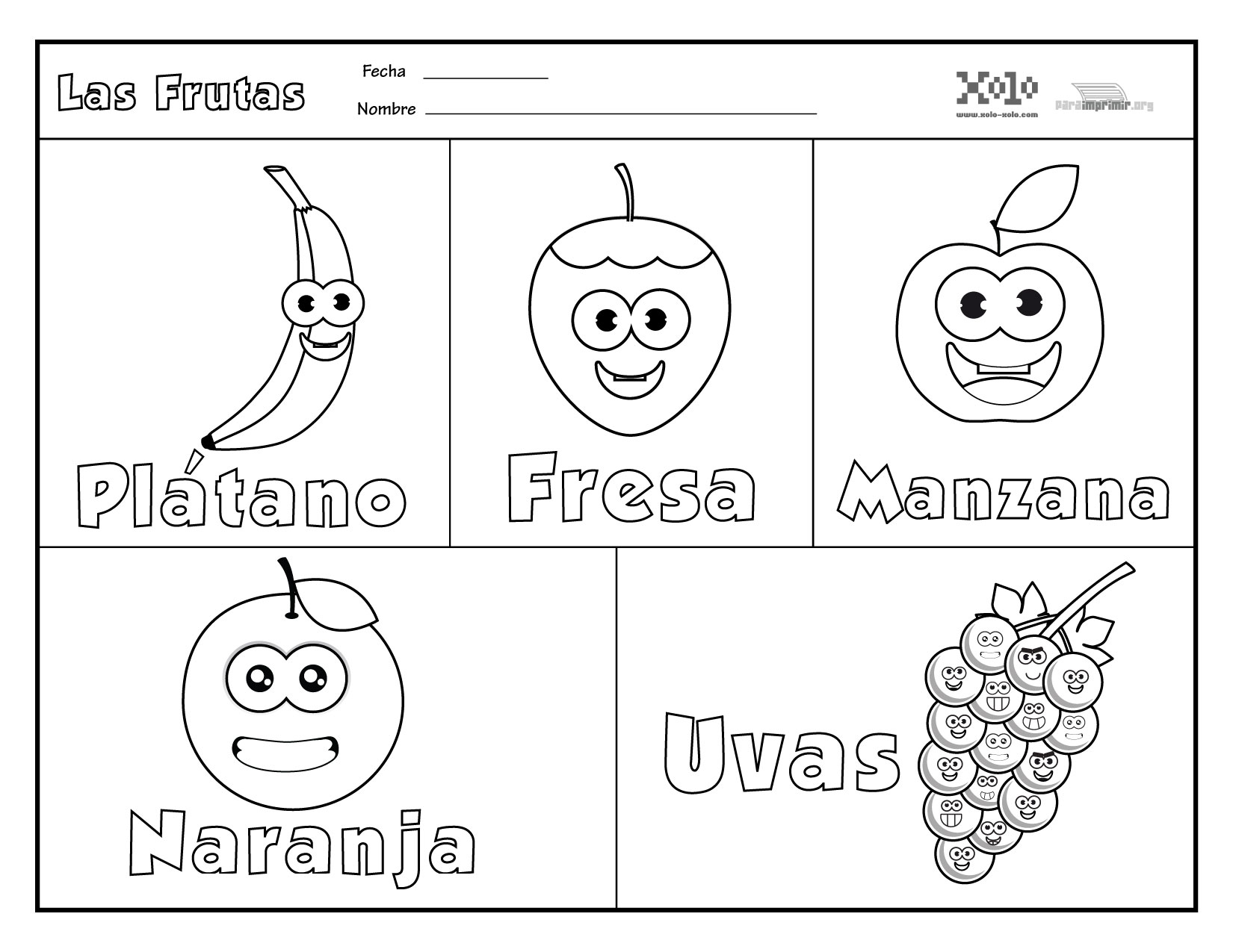 En Color Para Es Letras Imprimir De Sopa Los De Espanol