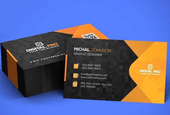 Free Business Card Template PSDs for Photoshop 100  Free Downloads Modern Corporate Business Card Template PSD