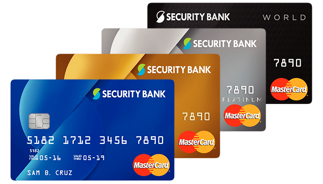 Bank Security Credit Pay Card