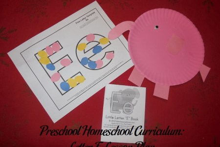 Preschool Homeschool Curriculum  Letter E Lesson Plan   Parenting Patch Letter E Preschool Activities
