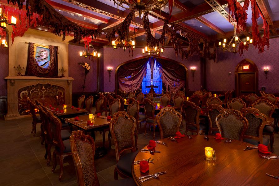 Beauty And Beast Restaurant Disney