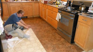 Buy Kitchen Vinyl Flooring In Dubai, ParquetFlooringae