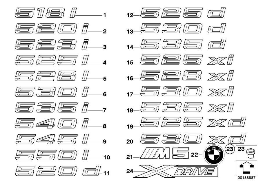 2007 Bmw 530i Body Kits