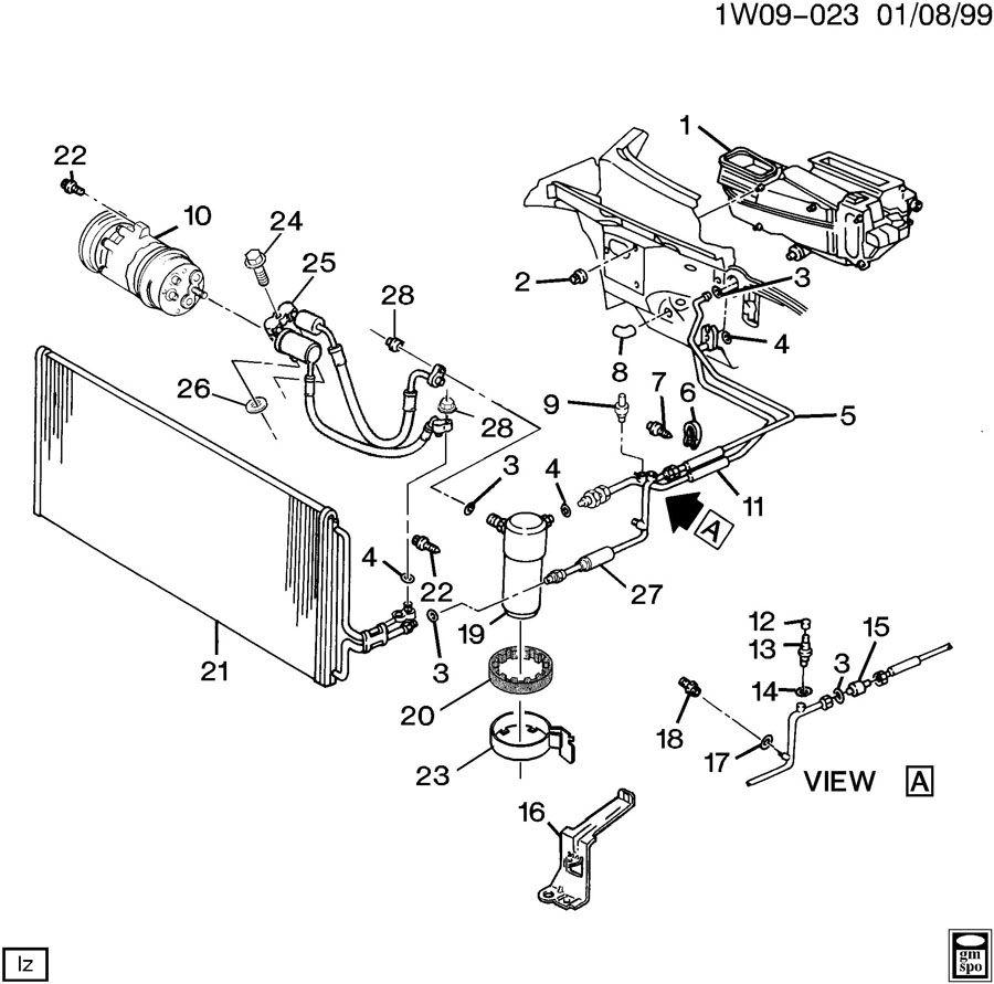 1995 chevy lumina engine diagram