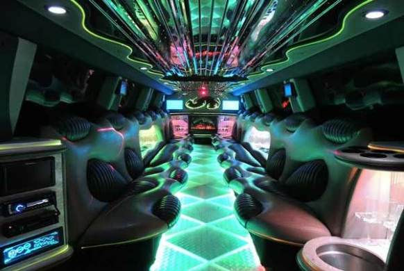 Party Bus Tombstone  AZ     Limo Service   Party Bus Tucson Hummer limo interior Tombstone