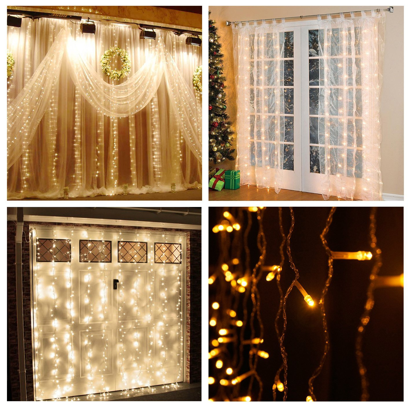 Home Accents Icicle Lights