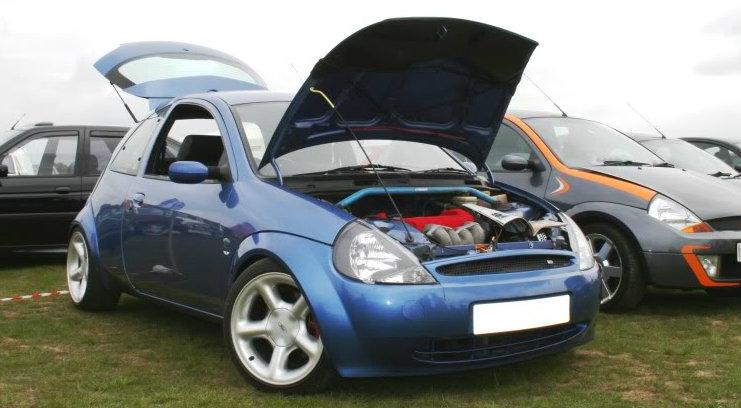 Ford Ka Inside