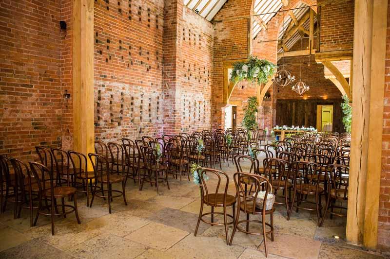 Shustoke Farm Barns Wedding Flowers Rustic Ceremony Passion For Flowers