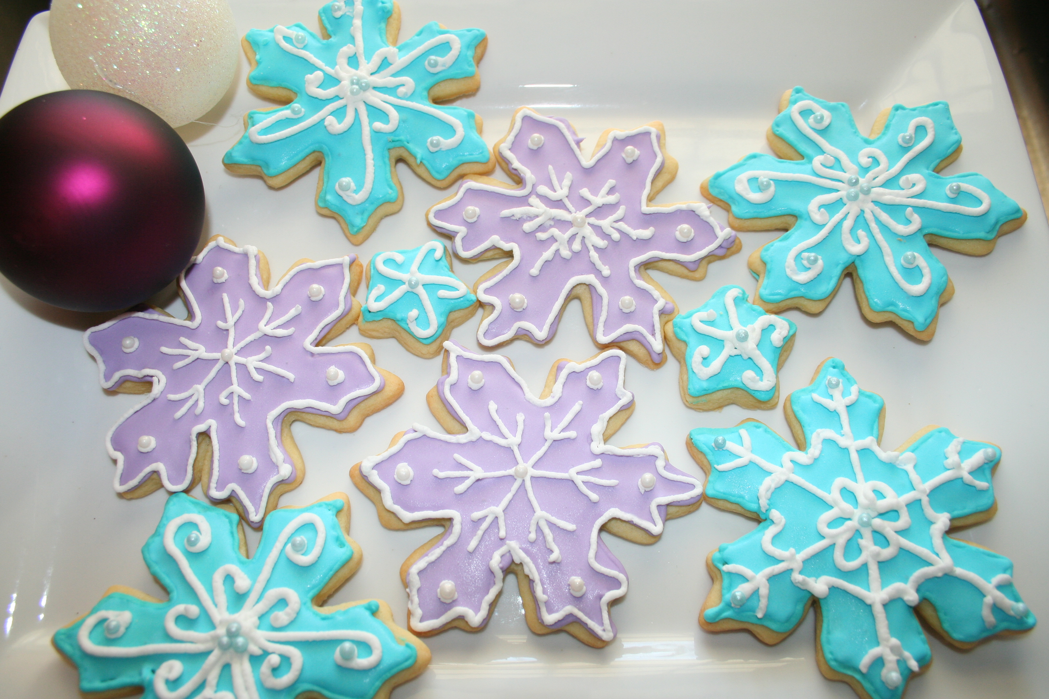 Ultimate Sugar Cookies     Decorated for Christmas   Pasta Princess     I