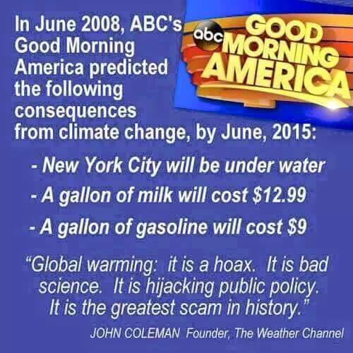 Climate Change Hoax – pastorwardclinton