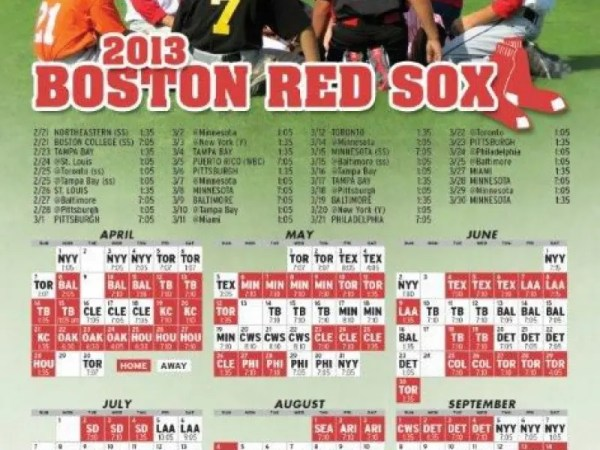 red sox schedule # 69