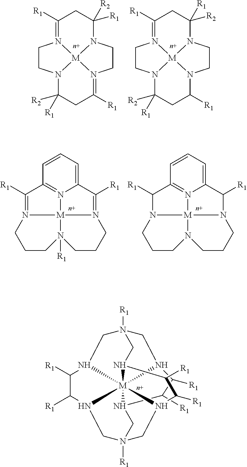 Metal amine imine pyridine plexes having the following formulaes
