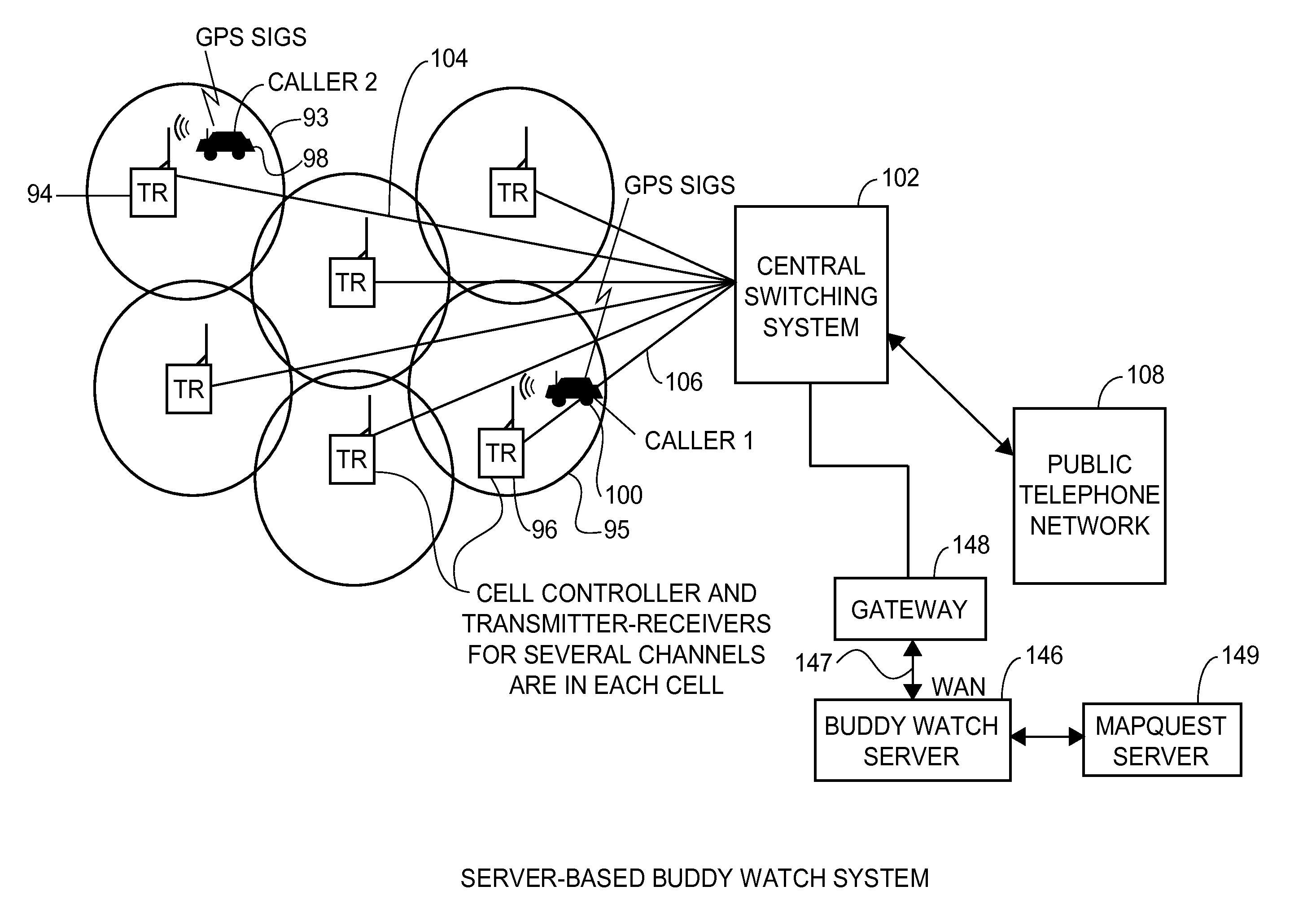 Us8538458b2 location sharing and tracking using mobile phones or other wireless devices patents