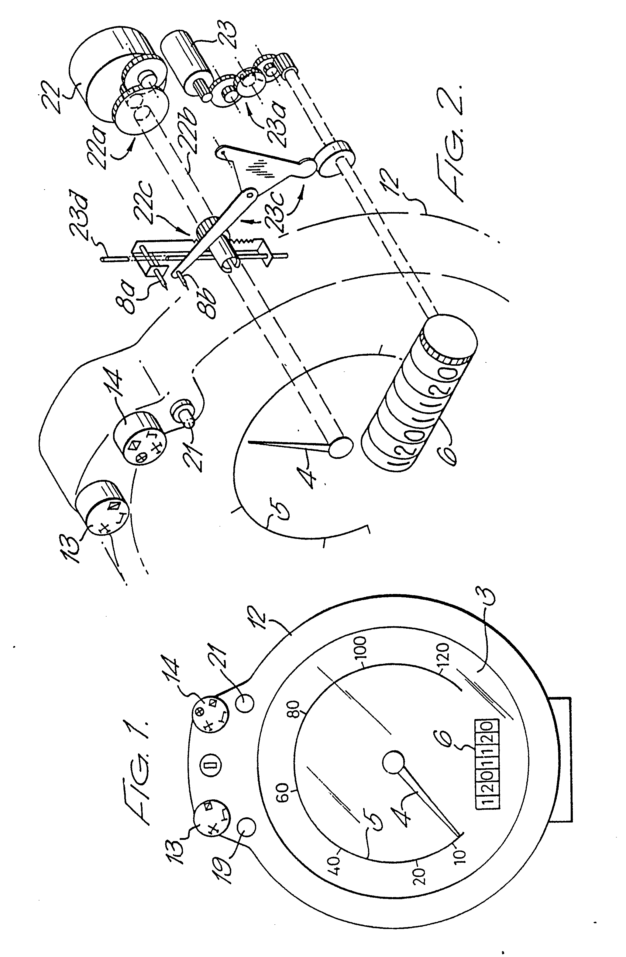 Patent ep0362969a2 tachograph and vehicle speed control device tacho fault code 81 at tachograph wiring diagram