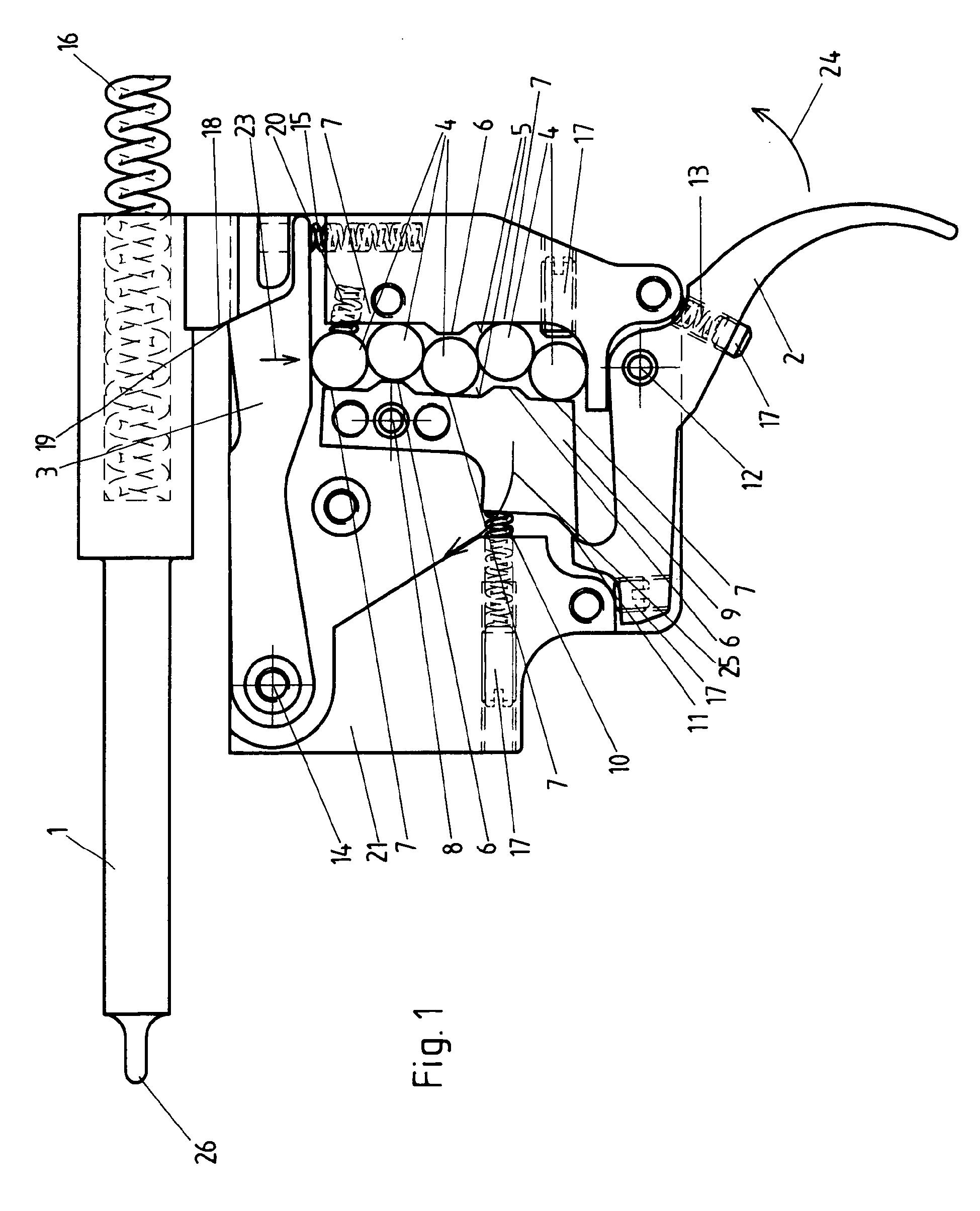 Patent ep2314974a2 trigger mechanism patents blue guitar schematics