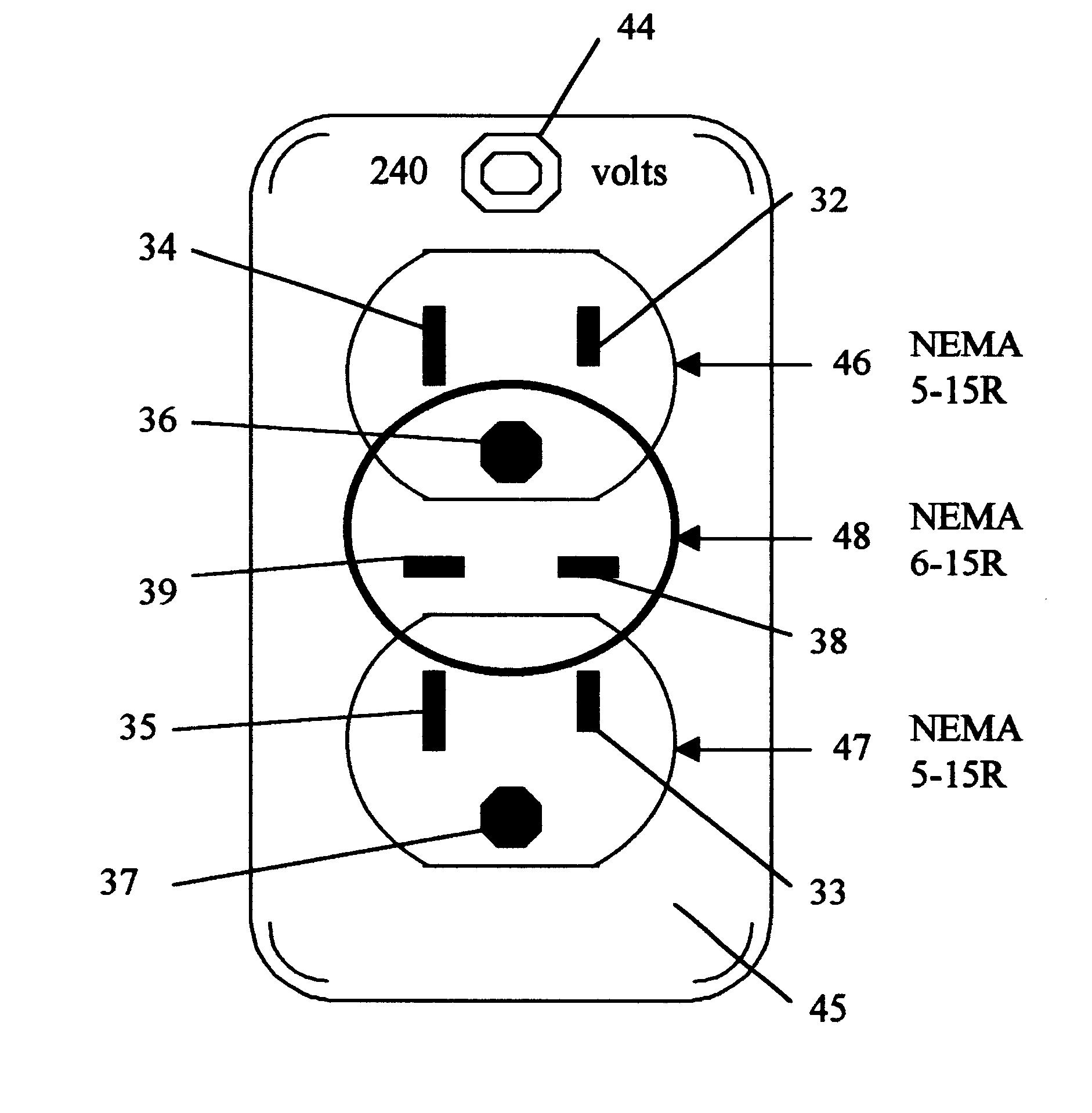 Us6328584 us0632858420011211d00000 split receptacle wiring diagram at w justdeskto allpapers