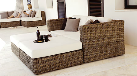 Gloster     Wicker Furniture   Patio Land USA Gloster Wicker Outdoor Patio Furniture