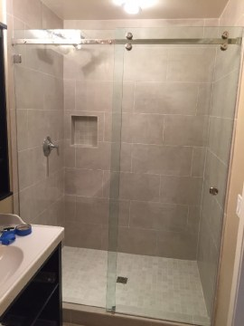 Sliding Glass Shower Doors   Patriot Glass and Mirror   San Diego CA Sliding Shower Doors California