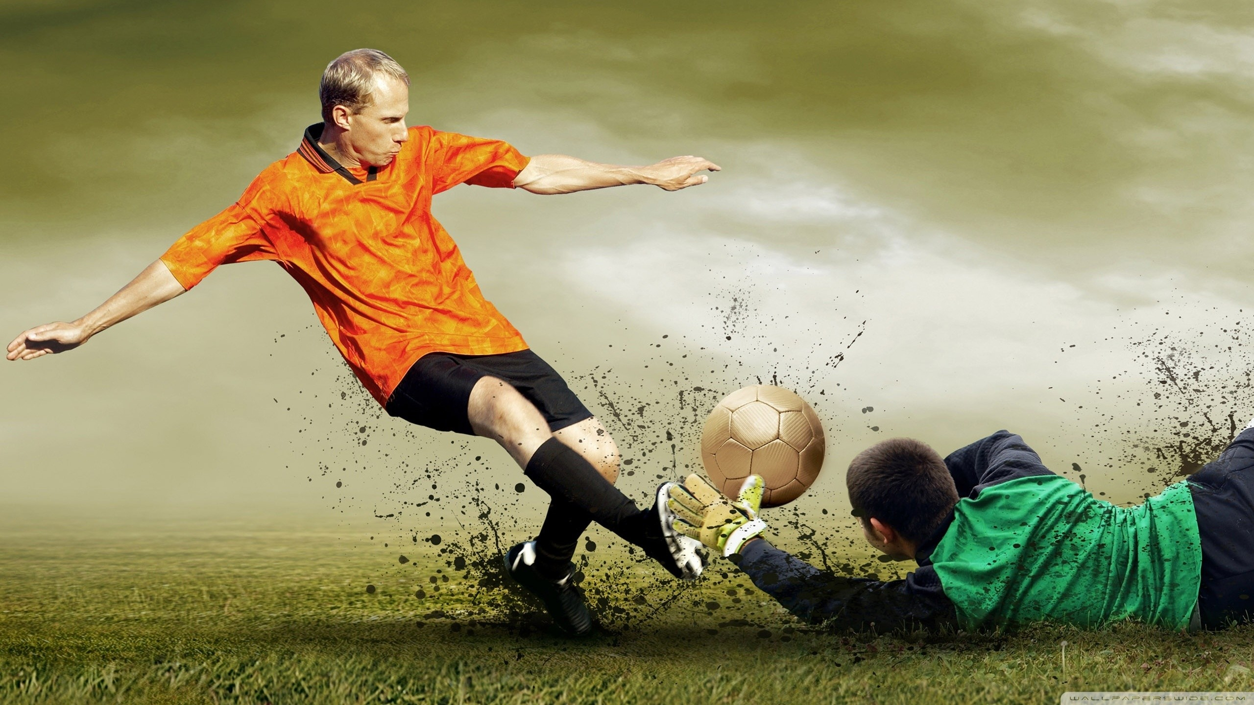 Soccer Wallpapers HD  70  background pictures  2560x1440 Standard