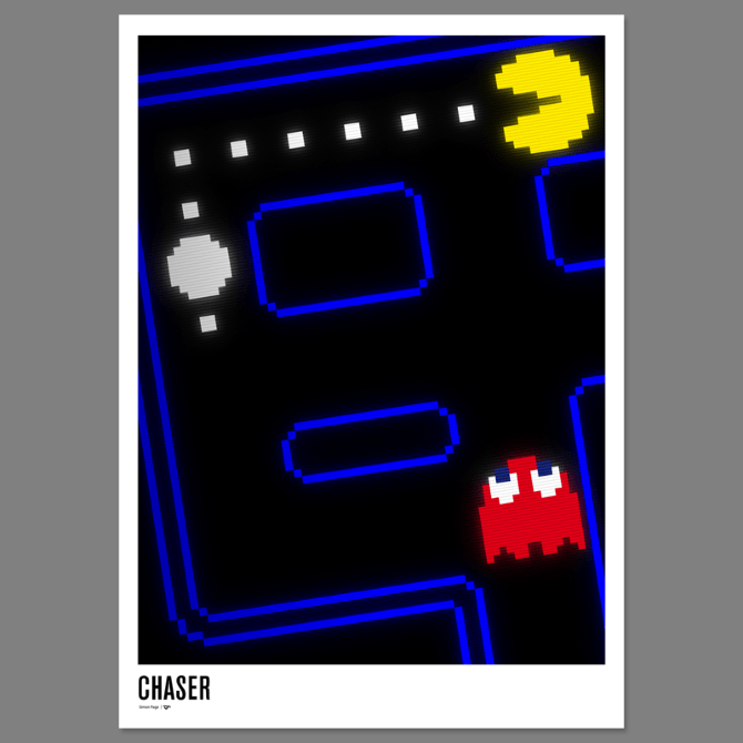 Pac Man 30th Anniversary Poster Excites The Portfolio