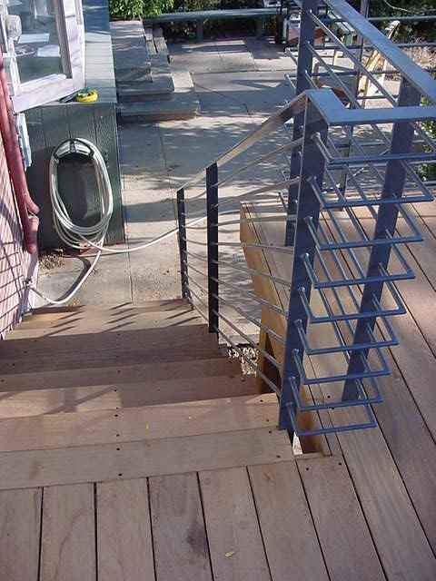 Steel Deck Railing System Studio 3600