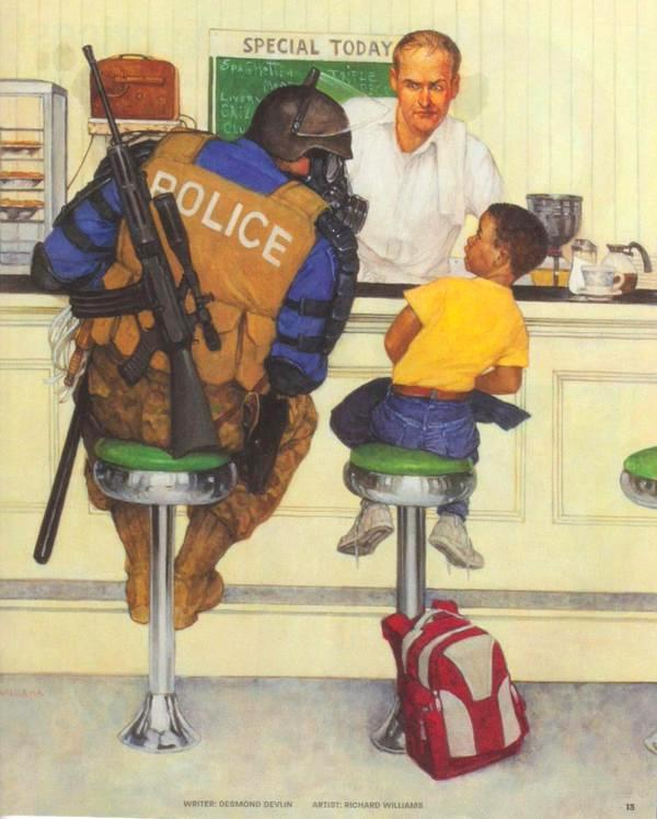 Norman Officer Rockwell Police