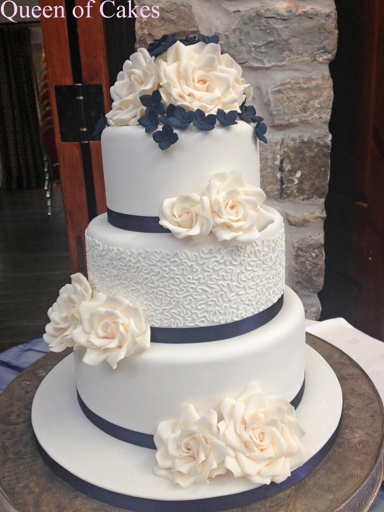 Colorful 3 Tier Round Wedding Cakes Image Collection - Wedding Idea ...