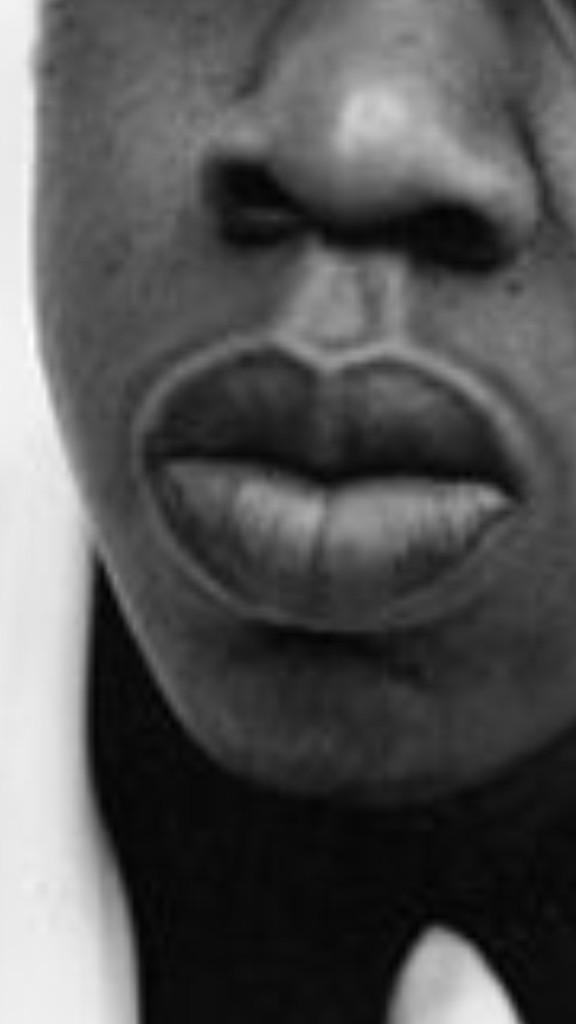 Black People Thin Lips