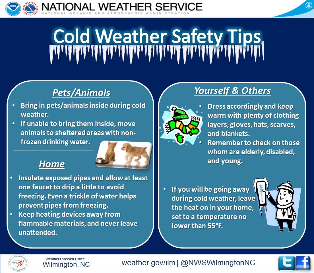 Osha Cold Weather Safety Tips