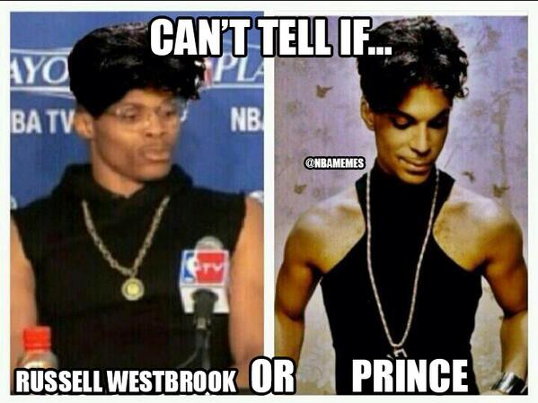 Russell Look Alike Westbrook