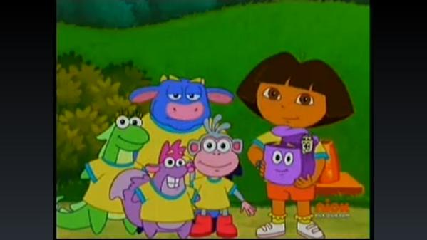 We Re Team Dora Explorer Vhs