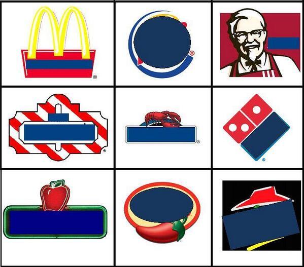 Names Logos Food Restaurants Fast