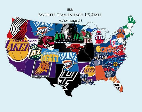 Locations Team Map Nba