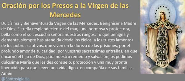 Oracion La Virgen De Mercedes