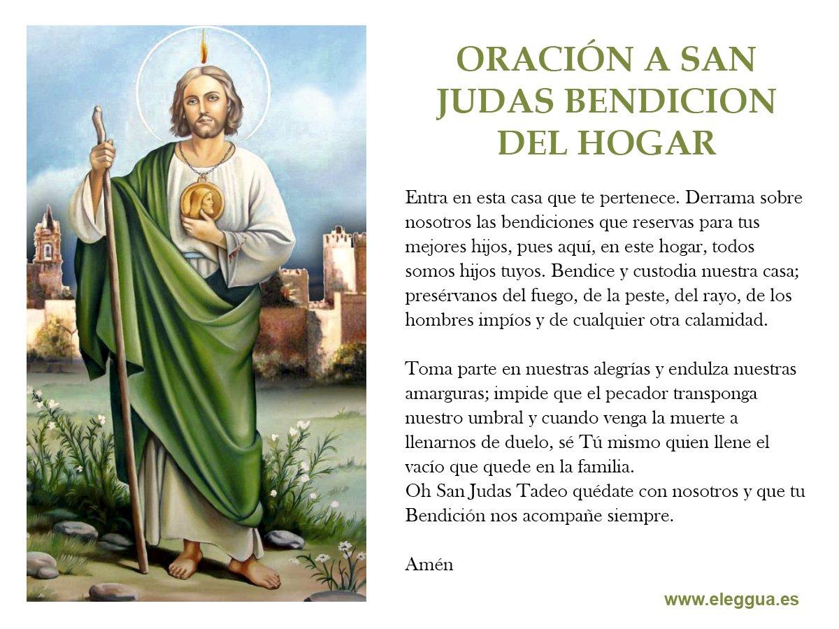 Judas Con Imagenes Enfermos Oraciones Pedir Tadeo Por Los San De Para