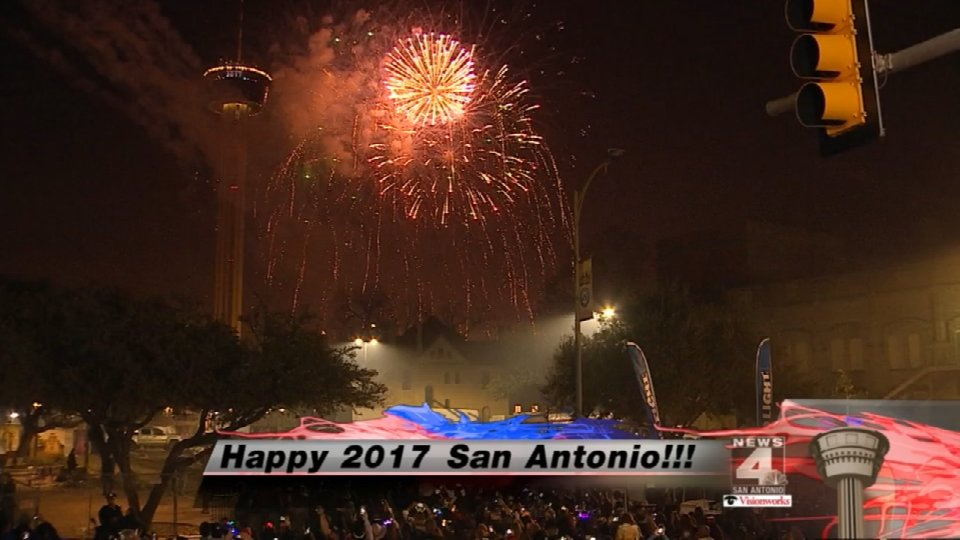 News 4 San Antonio on Twitter   Happy New Year SA  We love you all     News 4 San Antonio on Twitter   Happy New Year SA  We love you all     CelebrateSA